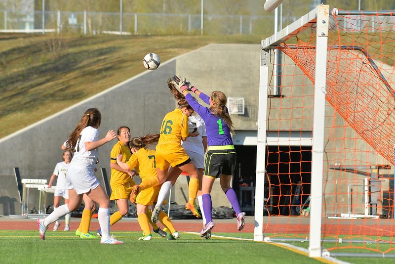 May 8, 2014: South High School vs. Service High School Girls Soccer