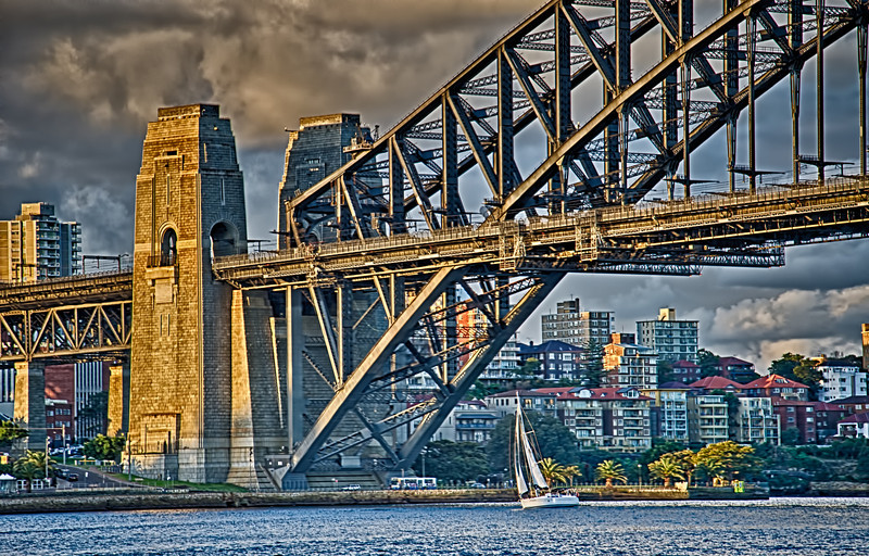 Sydney Harbour Bridge - late afternoon