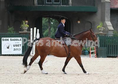 Ladies Hunter Side Saddle Under Saddle Class 1 (Sunday)