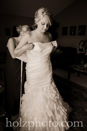 Ashley & Zach Creative Wedding Photos