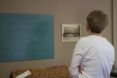 Sarah Lynch's Boiling Springs Museum Exhibit