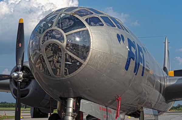 """B-29 """"FiFi"""" at PDK Airport, May 20, 2013"""