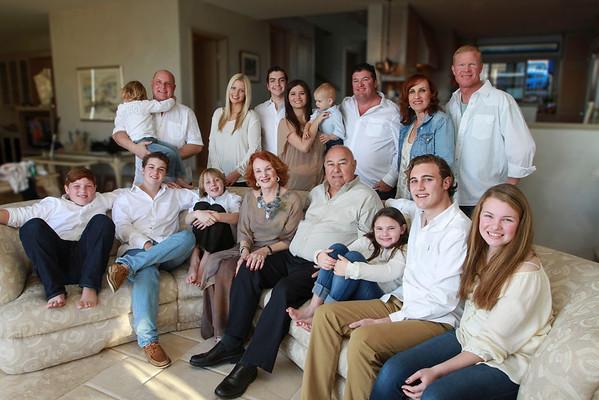 The Abbott Family 2014