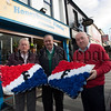 James McAreavey and Colm Curran from Newry Maritime Association are pictured wih Micky McVeigh from McVeigh property Sales who is sponsoring Replicia Fisher Flag wreaths to be laid at Rememberance Sunday in London. R1545006