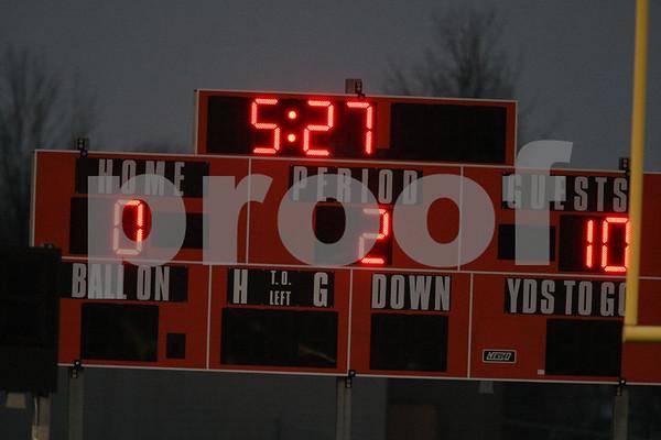 Varsity-Oak Grove vs Harrisonville 4-7-09