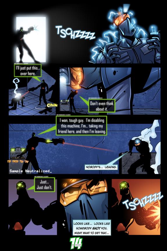 Splinter Cell Pandora Tomorrow Page 14