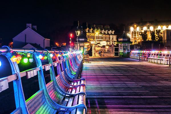 Bangor Pier Lights