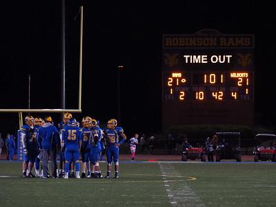 11/13 - Playoff Football v. Centreville