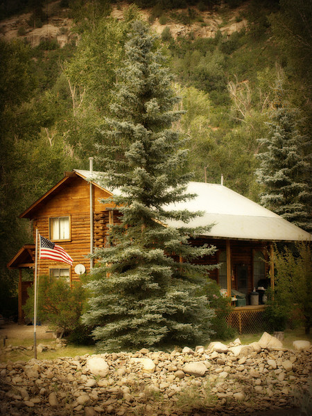 Colorado Mountain Cabin in the San Juan National Forest