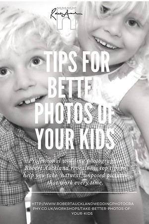 tips for better photos of your kids