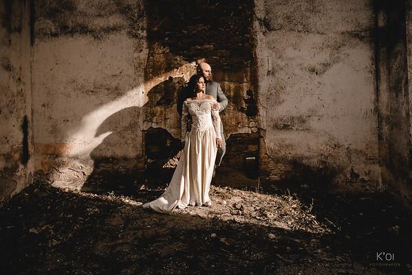 Cris & Ricardo. Trash the dress