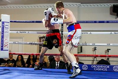 Bout 1. Ryan Stewart Davies vs M J Hall