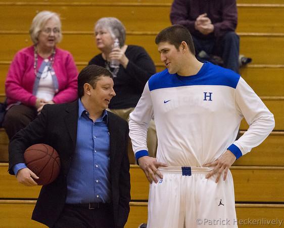 2013-02-14 Hillsdale College Men's Basketball vs. Lake Erie