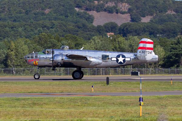 B-25 Mitchell Arrival 8/20/10