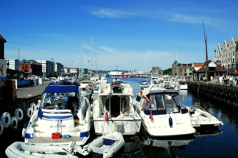 Båthavna i Bergen