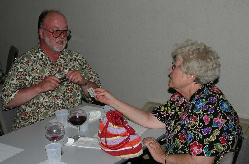 """Ron Wineteer - shown here with his wife Linda - is another Chadron """"returnee."""""""