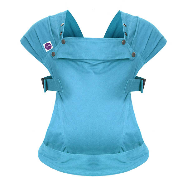 Izmi_Baby_Carrier_Cotton_Teal_Product_Shot_Ghost_Front.jpg