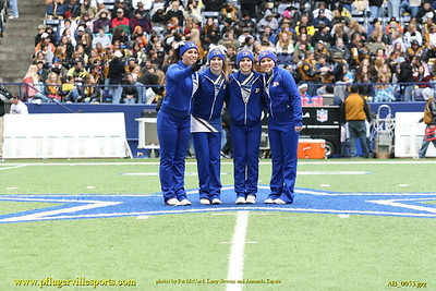 Pflugerville Panther Cheerleaders 2007 - 2008