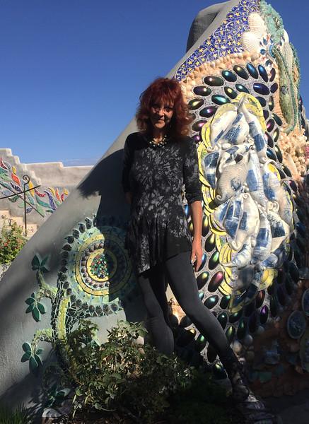 Outdoor mosaic installations
