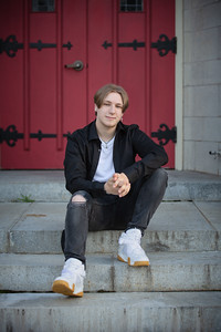 Jacob Kulas High School Senior Photos Pictures Agawam Session Outdoor Industrial Nature Fun Gothic Stone Church Modern Candid Happy Formal Portrait Kimberly Hatch Photography Western Mass New England Photographer Mill Crane Pond Westfield Photo Studio Wes