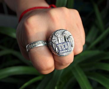 2011 new york giants superbowl ring