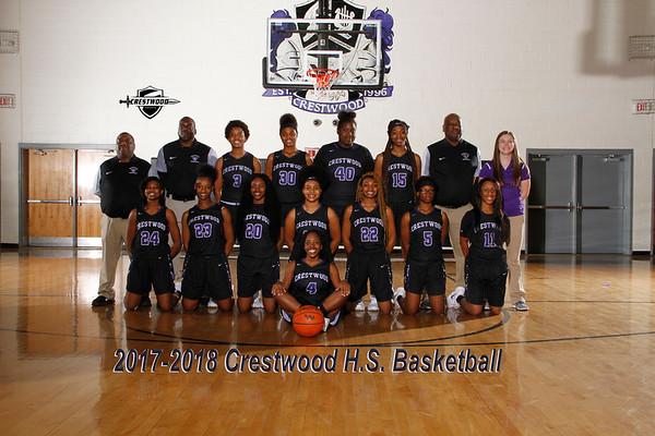 2017-2018 Varsity Girls Basketball