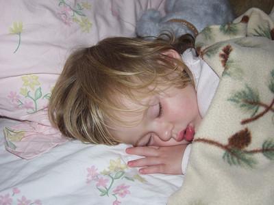 Katie Sleeping