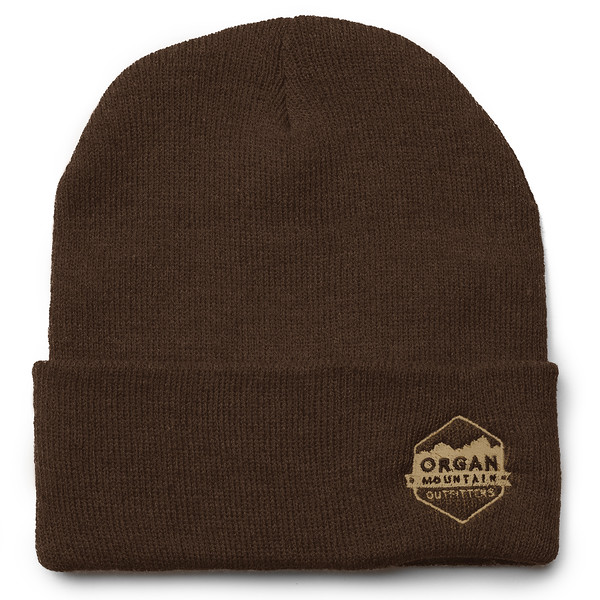Outdoor Apparel - Organ Mountain Outfitters - Hat - 12 Inch Knit Beanie - Brown.jpg