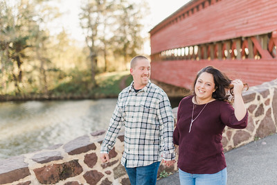Erica and Jordan's Engagement in Gettysburg