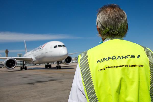 Air France Inaugural Flight (July 2nd)