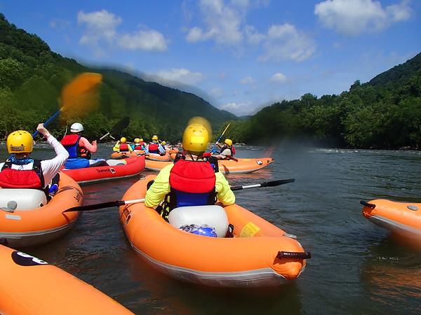 New River Trek at Summit Bechtel Reserve