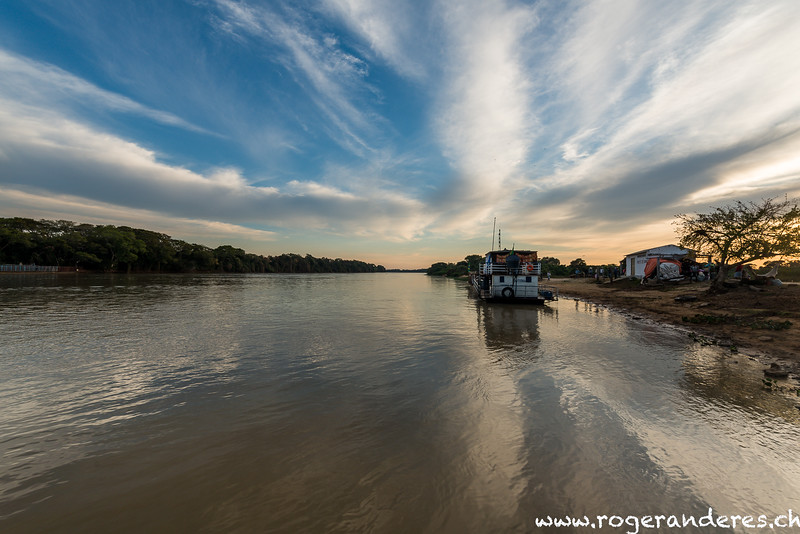 auf dem Weg ins Südpantanal