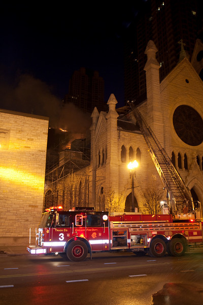 2-4-09  3-11 Alarm 751 N State Holy Name Cathedral (With Video)