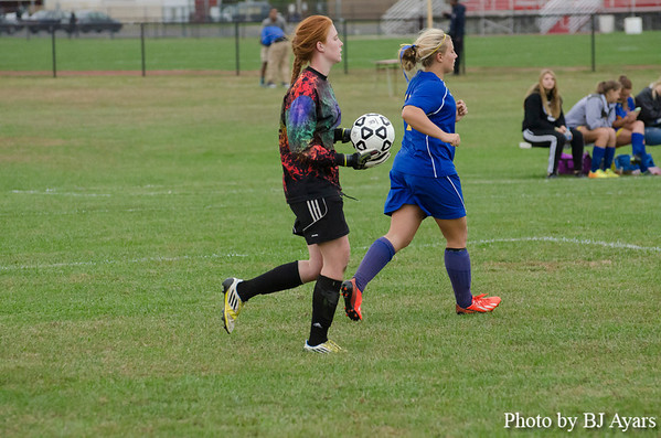 Pennsville vs Pennsgrove Soccer 2013