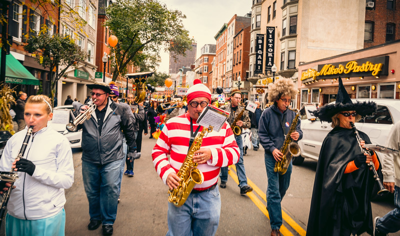 2016-10 | Halloween Parade in North End