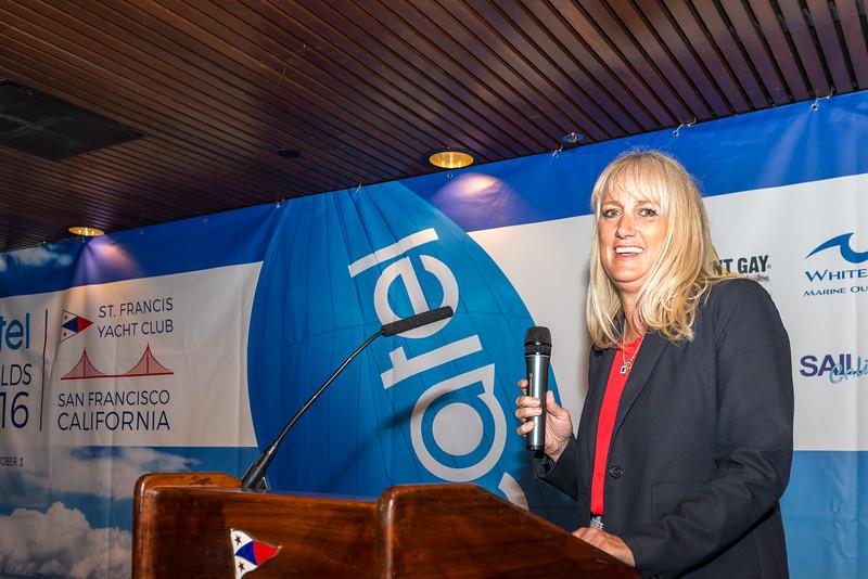 Susan Ruhne, J/70 Worlds Regatta Chair.