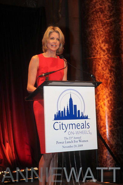 Nov 20, 2009 Citymeals on Wheels 23rd Annual Power Lunch for Women