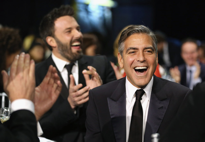 . Actor/Producer George Clooney attends the 18th Annual Critics\' Choice Movie Awards held at Barker Hangar on January 10, 2013 in Santa Monica, California.  (Photo by Christopher Polk/Getty Images for BFCA)