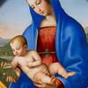 Madonna and Child, by Giovanni Battista Salvi, il Sassoferrato, oil on copper.  The Louvre Museum, Paris, France