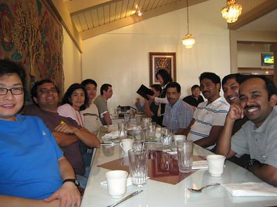 2007 - Sadanand Farewell lunch