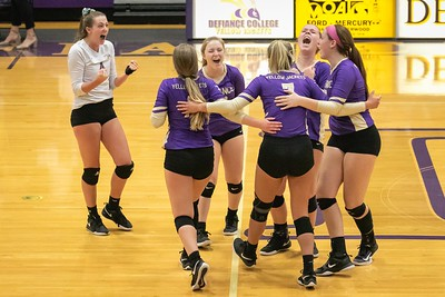 Defiance College Volleyball 10-05-2019
