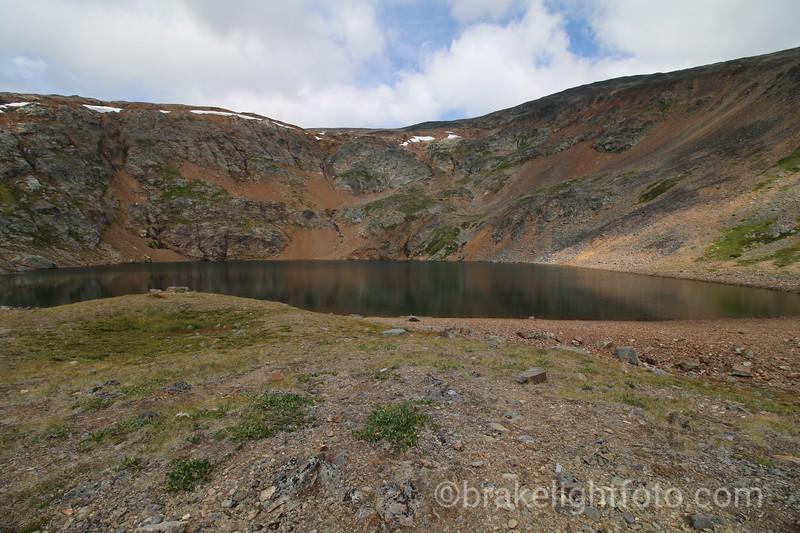 Crater Lake Hudson Bay Mountain