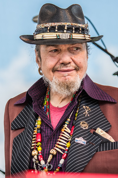 Dr. John--17th Annual Twin Cities Jazz Festival 2015-CHS Stadium, St. Paul MN.