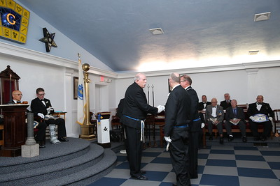 Puritan Lodge 2018 - 2019 Officers Installation