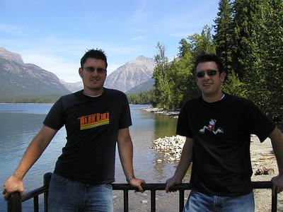 Glacier Park Drive - August 2005
