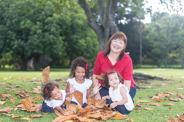 Molly & grandkids