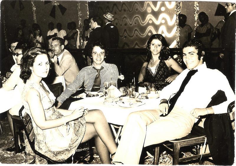 1972-73 Xixão, Ze' Cardoso, Cenoura e Mané Mendes