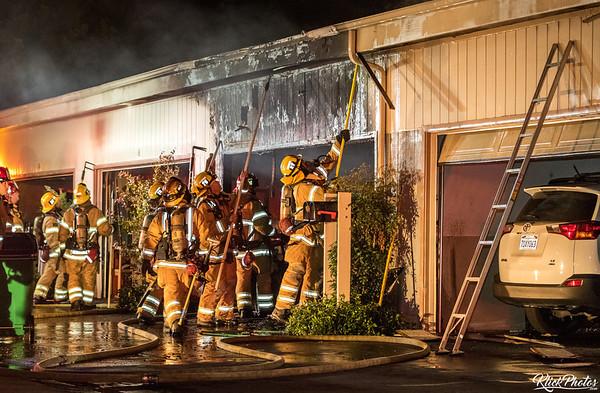 Irvine Condo Fire - May 31st, 2017