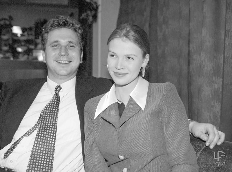 Darius Tarasevičius ir Aitė Stonytė.