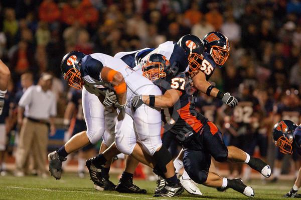 Wheaton College Football vs Hope College (32-20), September 26, 2009